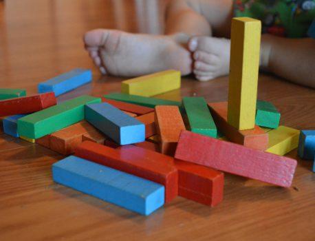 Tipos de juguetes de madera para niños